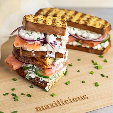 Low Carb Protein Fitness Sandwich
