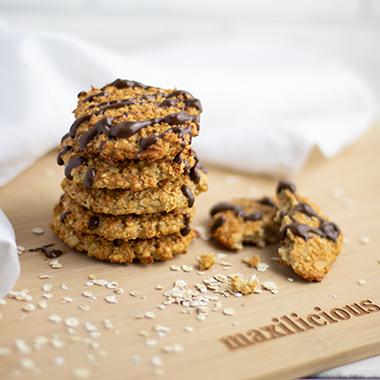 Haferflocken-Protein-Cookies