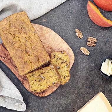 Herzhaftes Kürbis Walnuss Brot