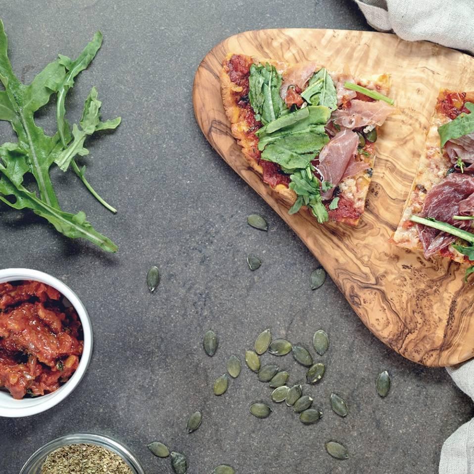 Rezept: MaxiNutrition Protein-Pizza