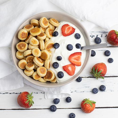 Protein Pancake Cereal Bowl