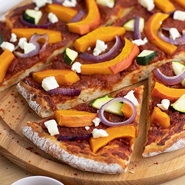 Low Carb Protein Kürbis Pizza