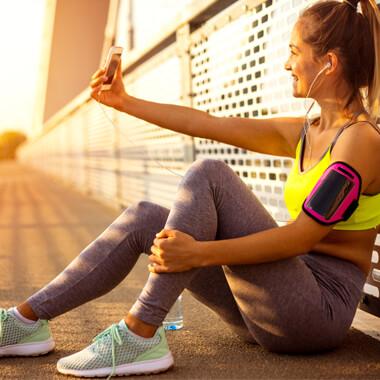 5 Tipps für coole Fitnessbilder und Fitness-Selfies