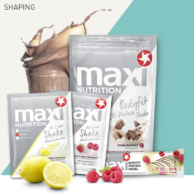 Maxinutrition Shaping Produkte