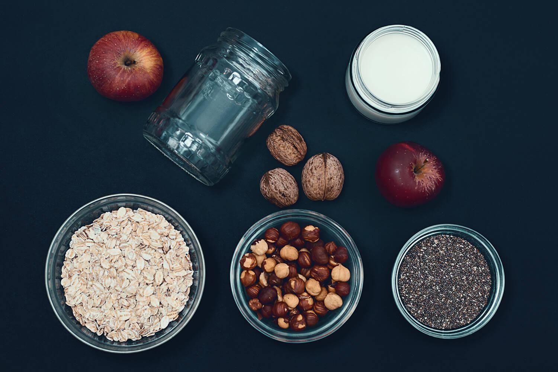 Porridge das Power Frühstück